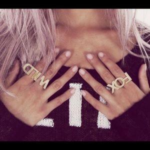 WILDFOX rings
